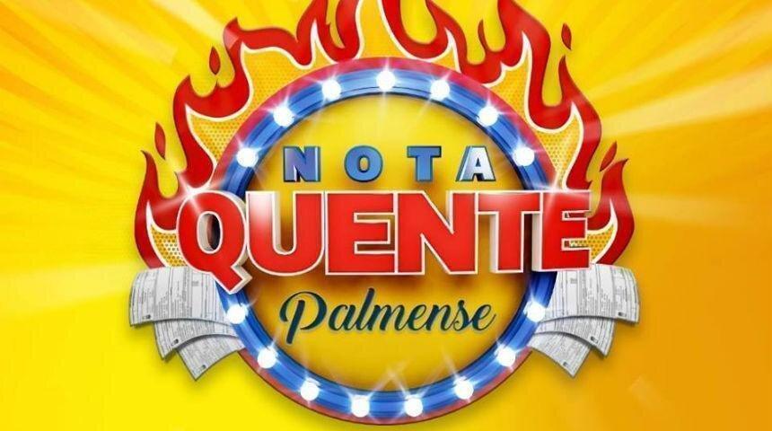 Logomarca da campanha Nota Quente Palmense