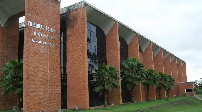 Fachada da sede do TJTO em Palmas