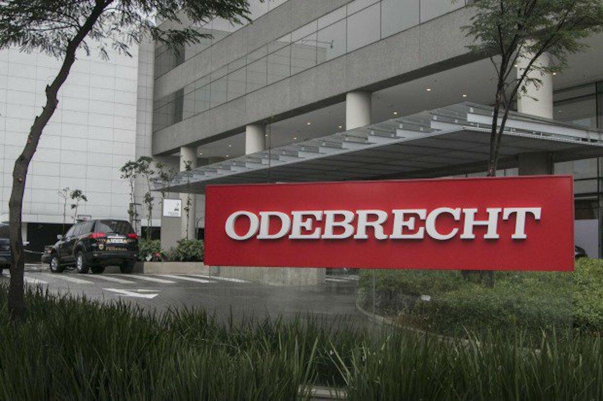 Fechada da sede da Odebrecht