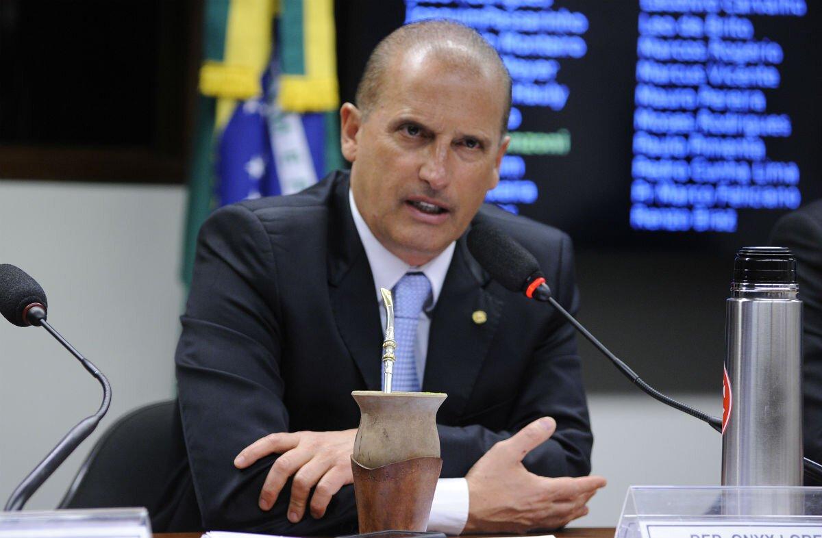 Ministro extraordinário da equipe de transição, Onyx Lorenzoni