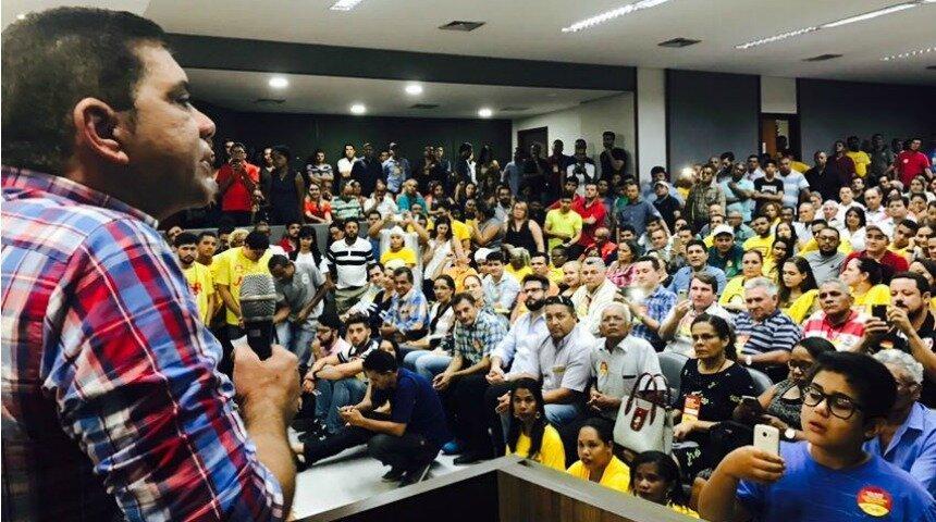 Carlos Amastha é lançado candidato a governador pelo PSB