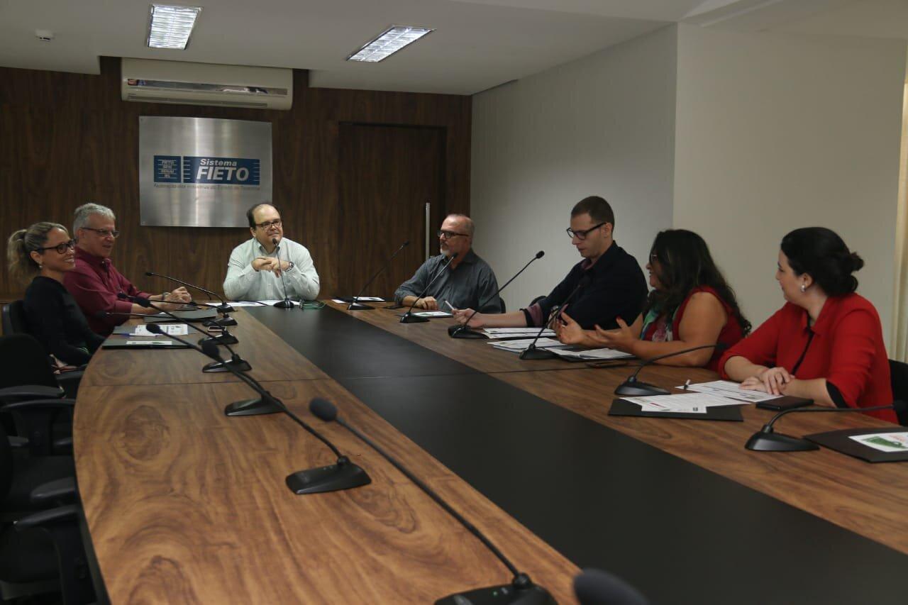 Reunião sobre o Prêmio Abap