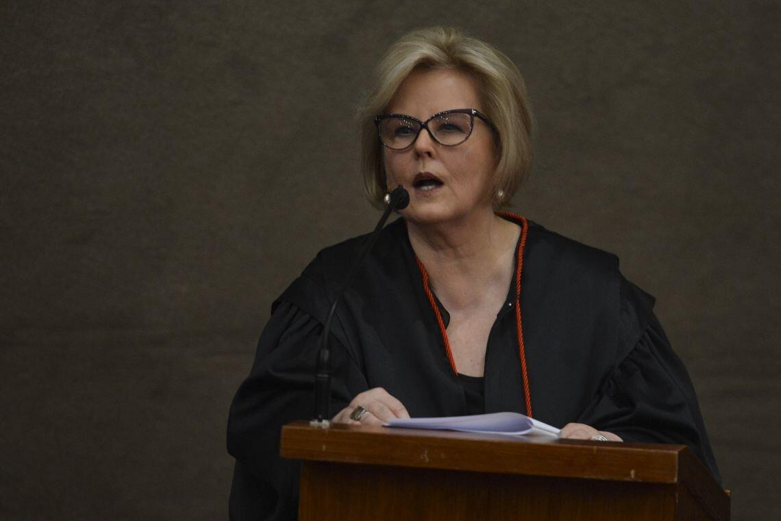 Ministra Rosa Weber discursa na diplomação de Jair Bolsonaro