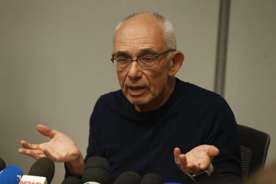 Presidente da Vale, Fábio Schvartsman, em coletiva