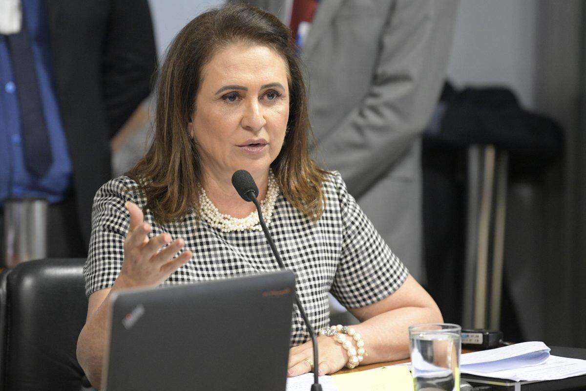Senadora Kátia na sabatina do presidente do BC, Roberto Campos Neto